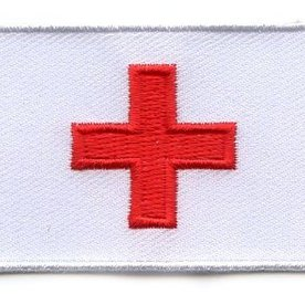 BACKPACKFLAGS flag patch Red Cross
