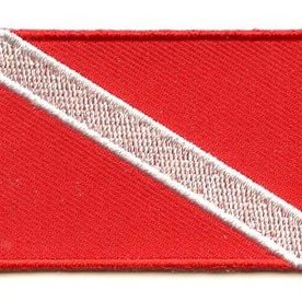 BACKPACKFLAGS flag patch Scuba