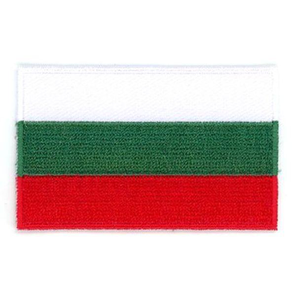 Flaggen-Patch Bulgarien