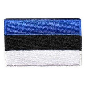 BACKPACKFLAGS flag patch Estonia