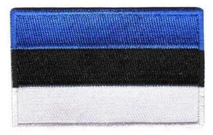 Flaggen-Patch Estland