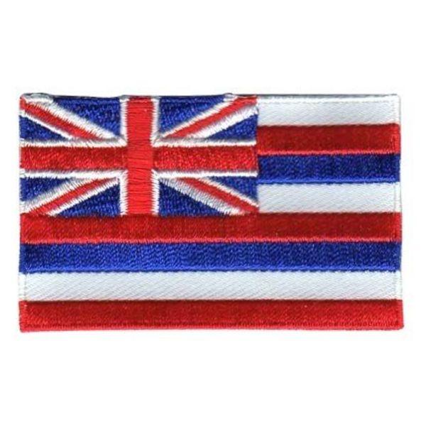 Hawaiianischer Flaggenflecken