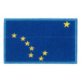 Flaggenpatch Alaska