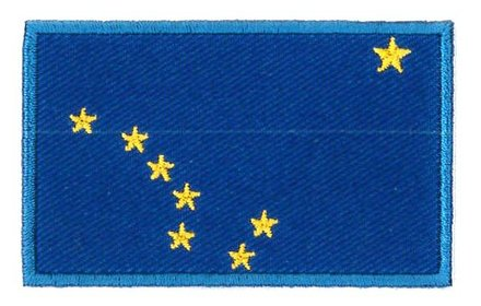 flag patch Alaska