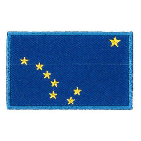 Alaska flag patch