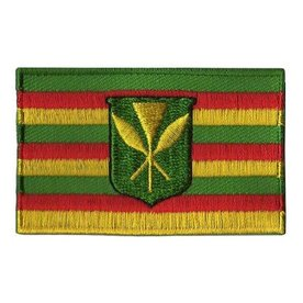 Flaggenpatch Hawaii (alte Flagge)