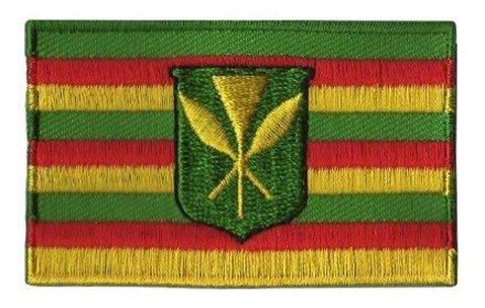 Flaggenpatch Hawaii (alte Flagge)