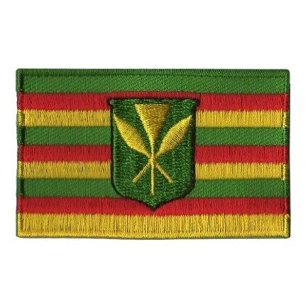 BACKPACKFLAGS flag patch Hawaii (old flag)