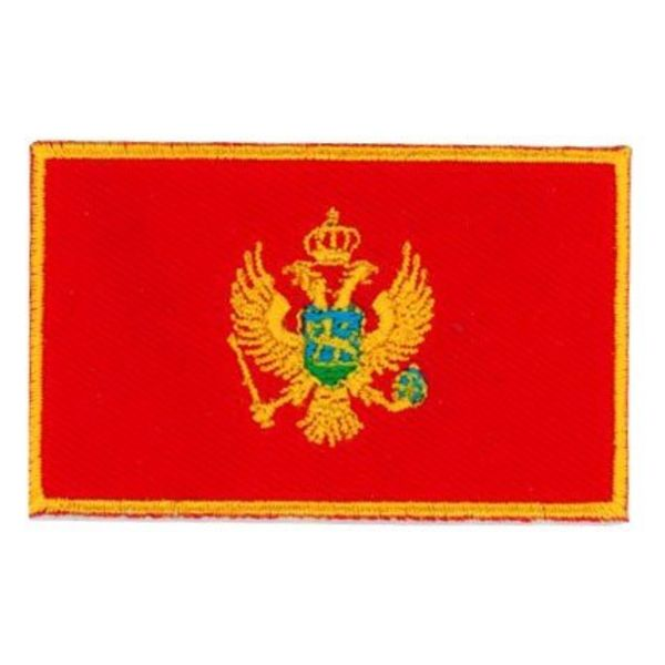 Flagge Patch Montenegro