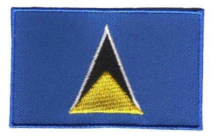 flag patch Saint Lucia