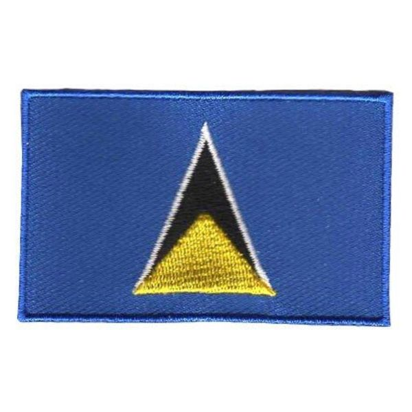 BACKPACKFLAGS flag patch Saint Lucia