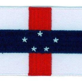Flagge Patch Niederländische Antillen