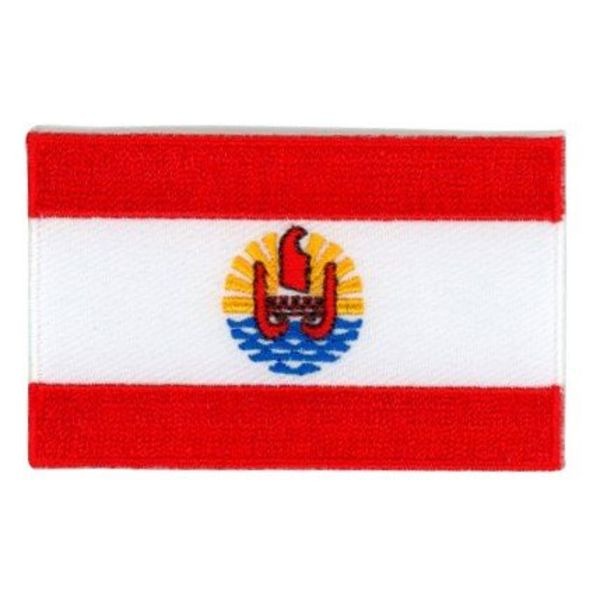 BACKPACKFLAGS flag patch French Polynesia