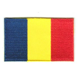 BACKPACKFLAGS flag patch Chad