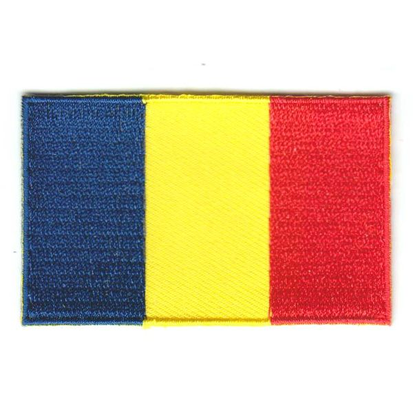 Flaggenpatch Tschad