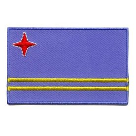 Flaggenpatch Aruba
