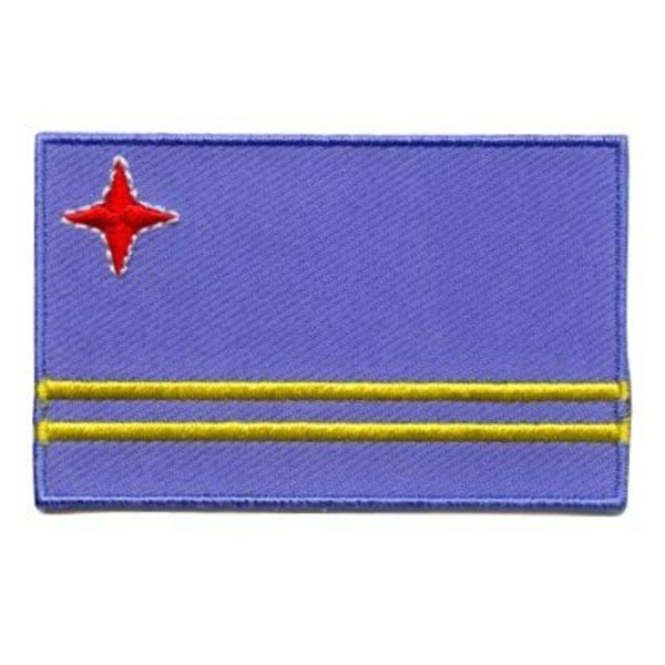 Flaggenpatch Aruba