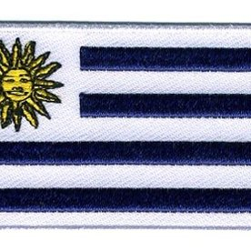 Flaggenpatch Uruguay