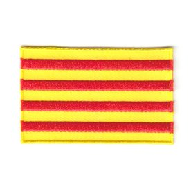 Flagge Patch Katalonien