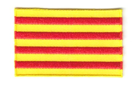 flag patch Catalonia