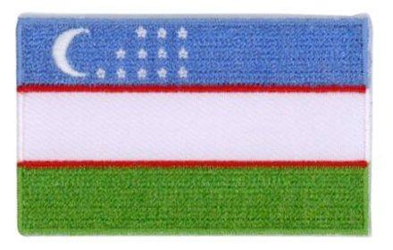 flag patch Uzbekistan
