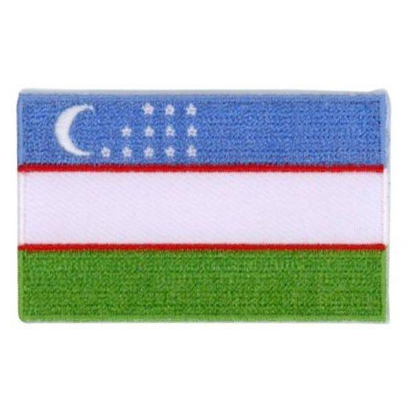 BACKPACKFLAGS flag patch Uzbekistan