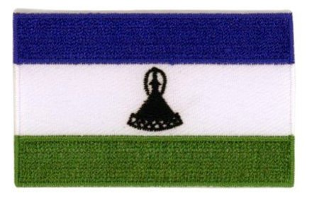 flag patch Lesotho