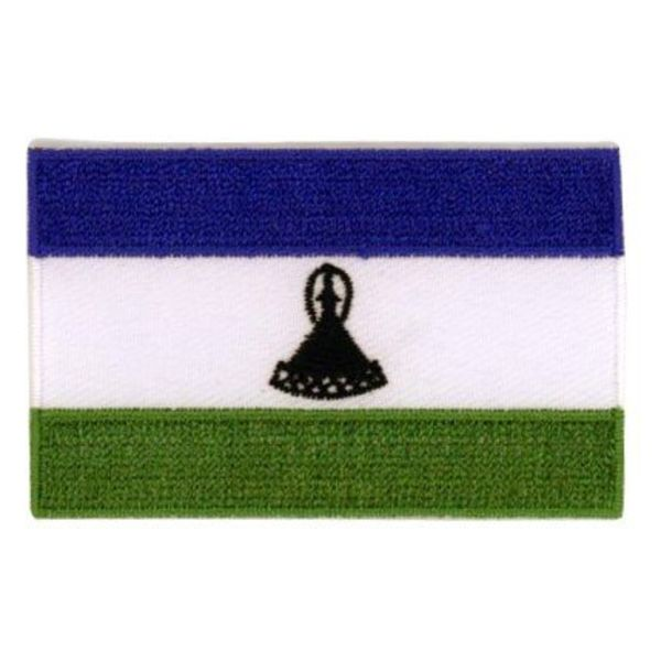 BACKPACKFLAGS flag patch Lesotho