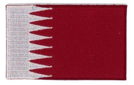 flag patch Qatar