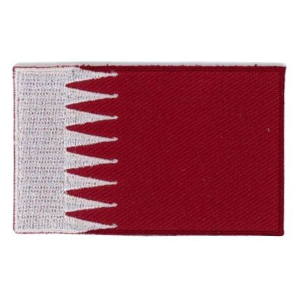Flaggenpatch Katar