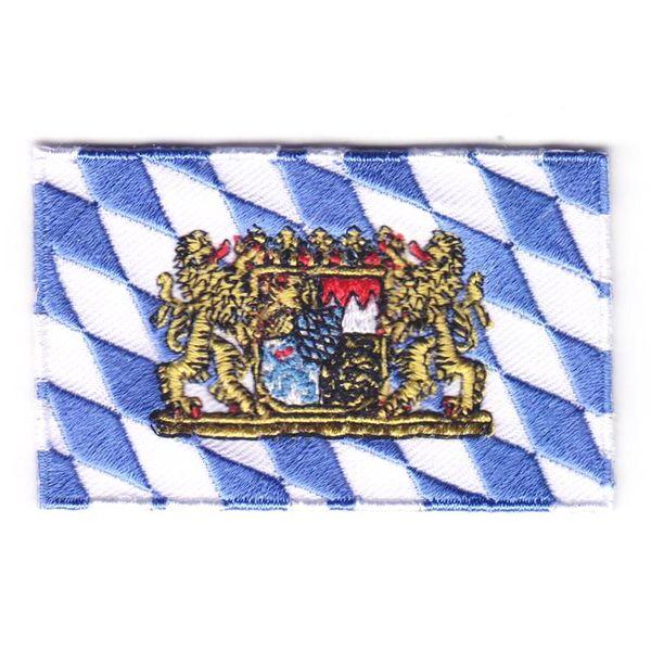 Flaggenpatch Bayern