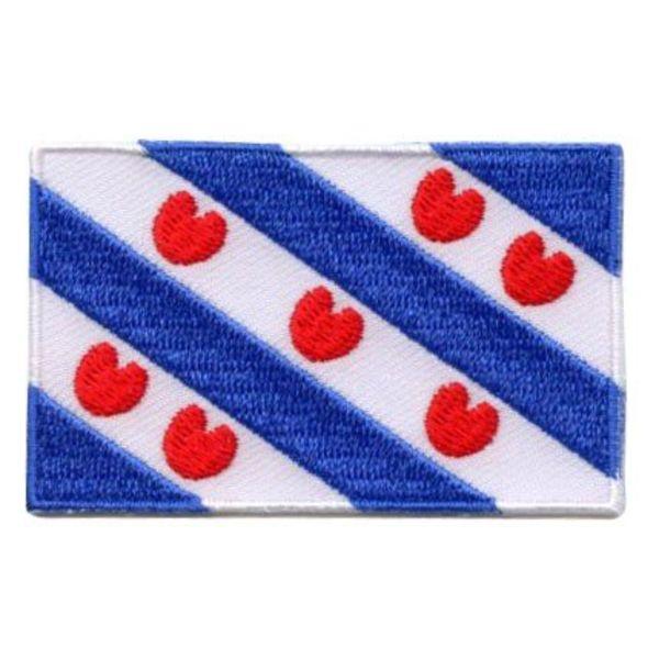 Flaggenpatch Fryslân