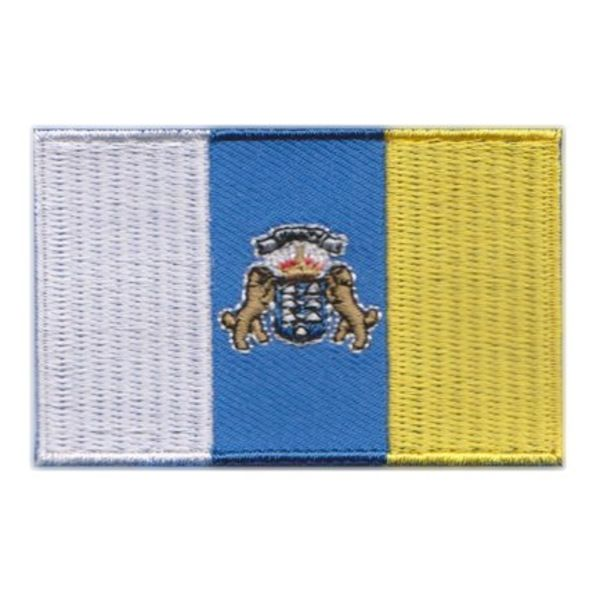 Flagge Patch Kanarische Inseln