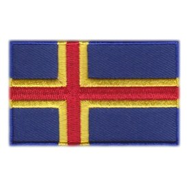 BACKPACKFLAGS flag patch Åland