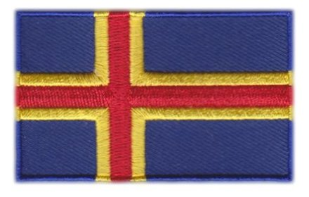 flag patch Åland