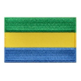 BACKPACKFLAGS flag patch Gabon