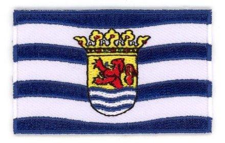 Flagge Patch Zeeland