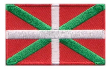 flag patch Basque