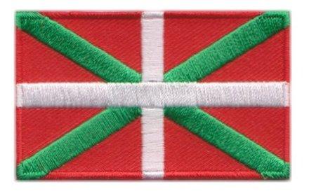Flagge Patch Baskisch