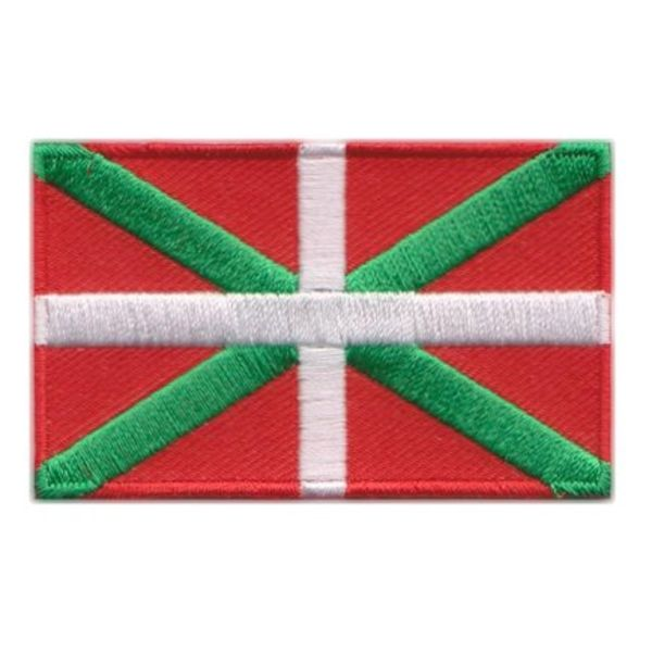 Flagge Patch Baskisch