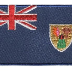 flag patch Turks and Caicos Islands