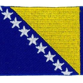 BACKPACKFLAGS flag patch Bosnia and Herzegovina
