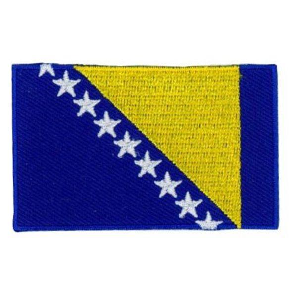 flag patch Bosnia and Herzegovina