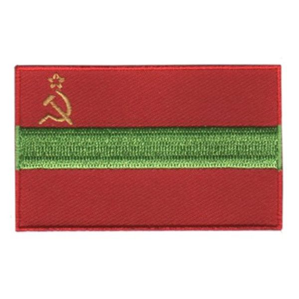 Flagge Patch Transnistrien