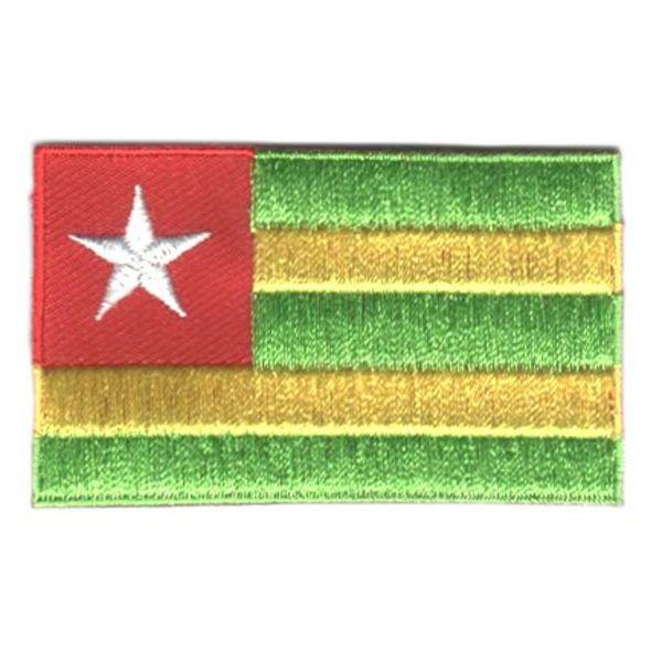 Flaggenpatch Togo