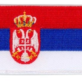 BACKPACKFLAGS flag patch Serbia