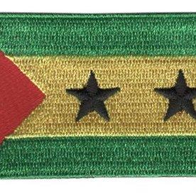 Flaggenpatch São Tomé und Príncipe