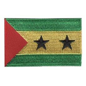 flag patch São Tomé and Príncipe