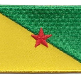 BACKPACKFLAGS flag patch French Guiana