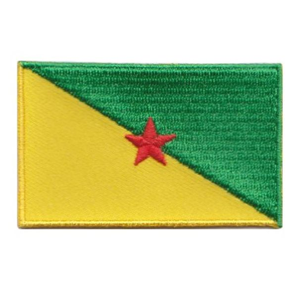 Flaggenpatch Französisch-Guayana